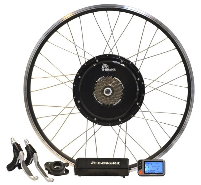 E-BikeKit electric bike conversion kit.