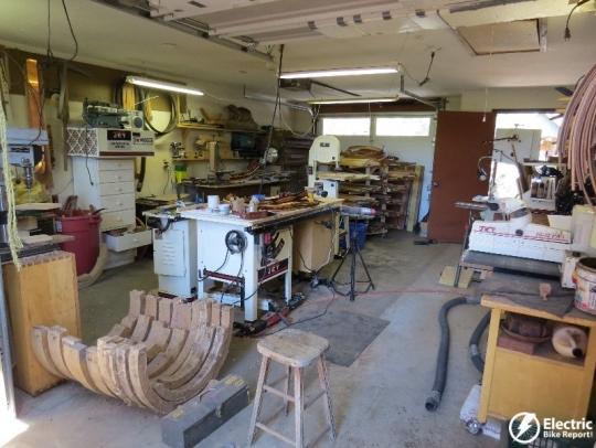 Woody's Custom Wooden Fenders shop