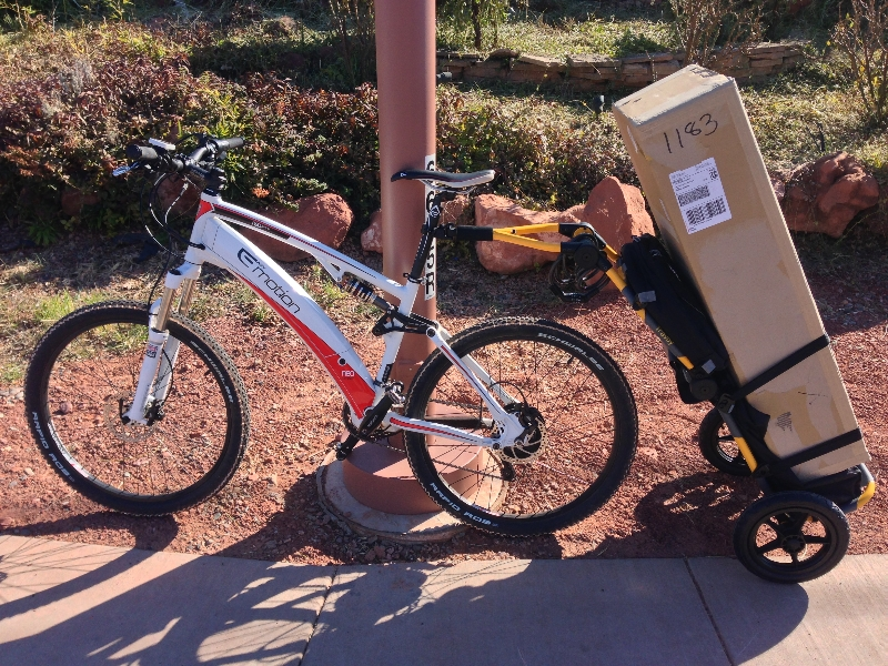 Burley Travoy Dry Bag Electric Bike Report Electric