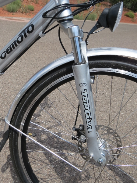 Cemoto-city-commuter-suspension-fork