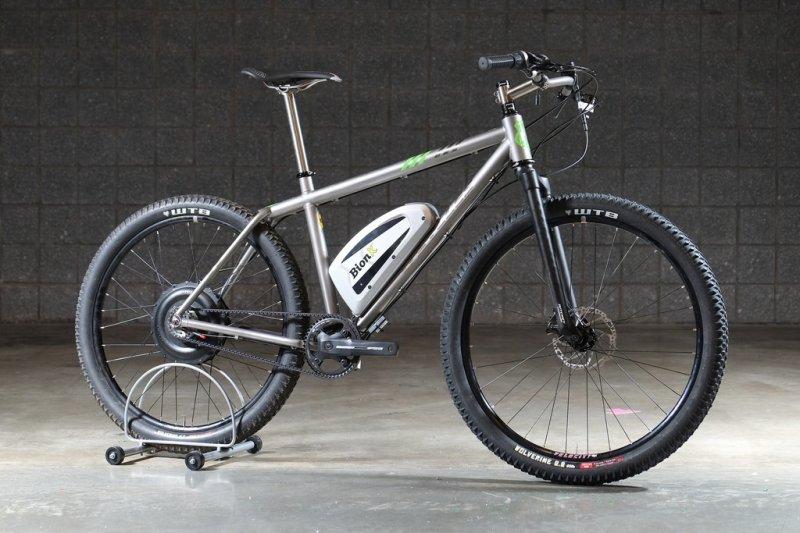 Custom Electric Bikes With Bionx Amp Gates Belt Drive