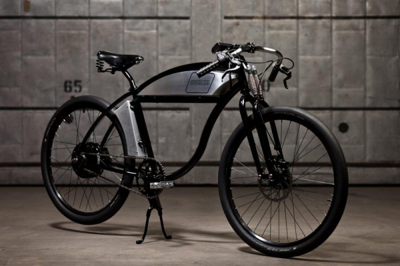 The Derringer Cycles Electric Bike Details