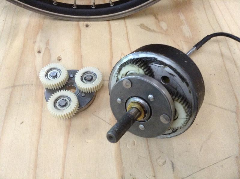 Geared Electric Bike Hub Motor