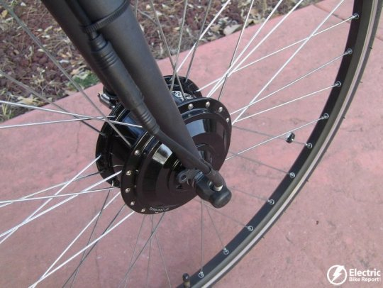 e-bike-kit-geared-front-hub-motor-cable-connector