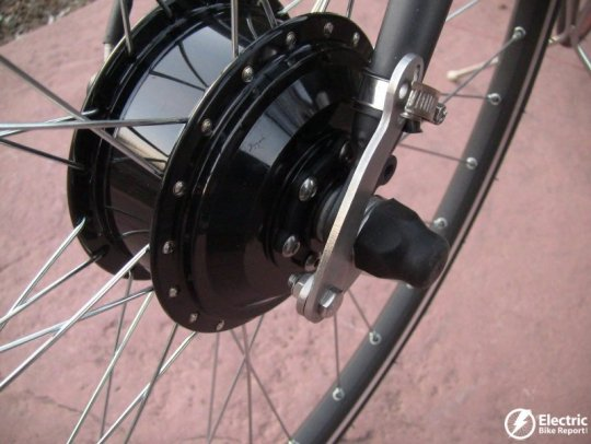 e-bike-kit-geared-front-hub-motor-disc-brake-rotor-connection