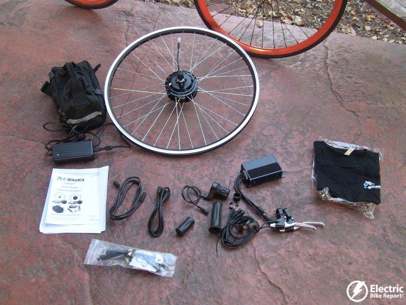 E Bike Kit Unboxed