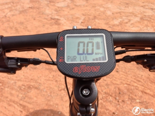 eflow-electric-bike-control-display