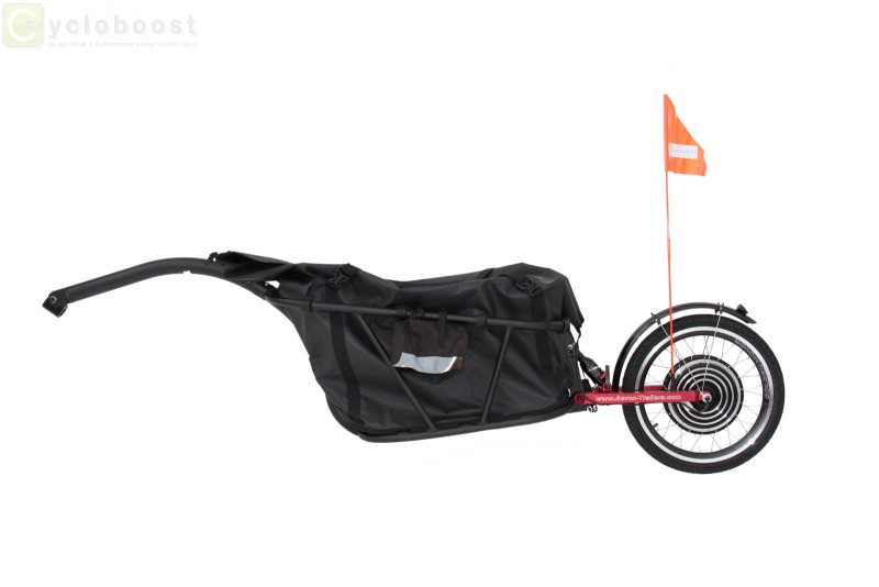 Cycloboost Electric Bike Trailer Add Some Boost Cargo To Your
