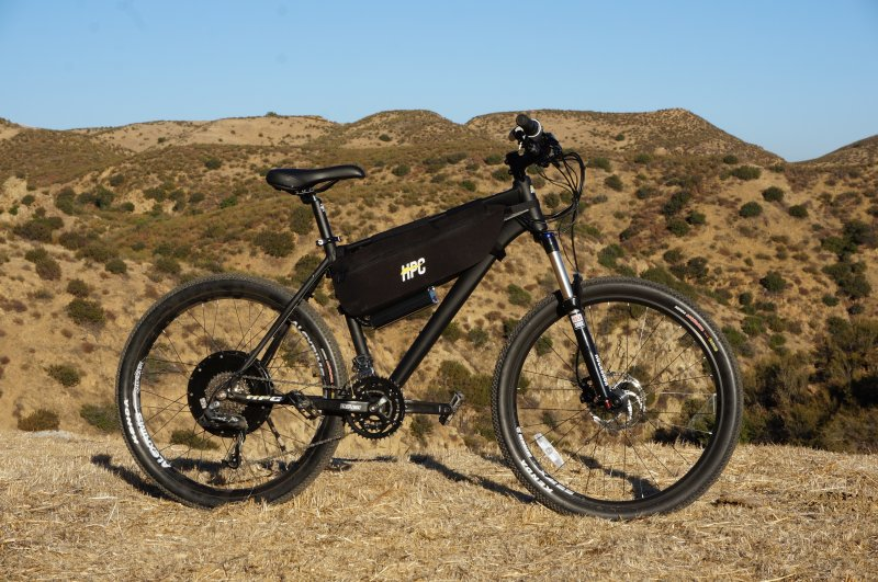 Hi Power Cycles Ht 1 Electric Bike With Portable Solar Charger