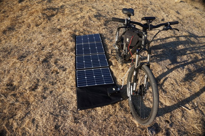 Hi Power Cycles Ht 1 Electric Bike With Portable Solar