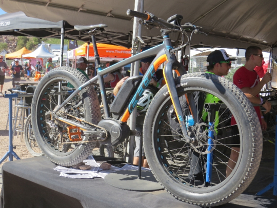 Felt Fat electric bike at Outdoor Demo