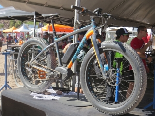 Felt Fat electric bike at Outdoor Demo