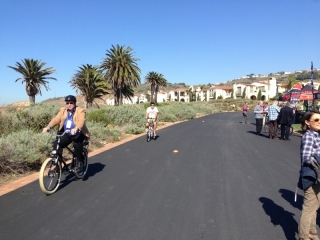 media-test-riding-ebikes-at-interbike-electric-bike-event
