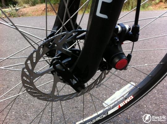 front-avid-bb5-mechanical-disc-brake-izip-ultra-electric-bike
