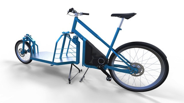 modular electric cargo bike design from italy electric bike report electric bike ebikes. Black Bedroom Furniture Sets. Home Design Ideas