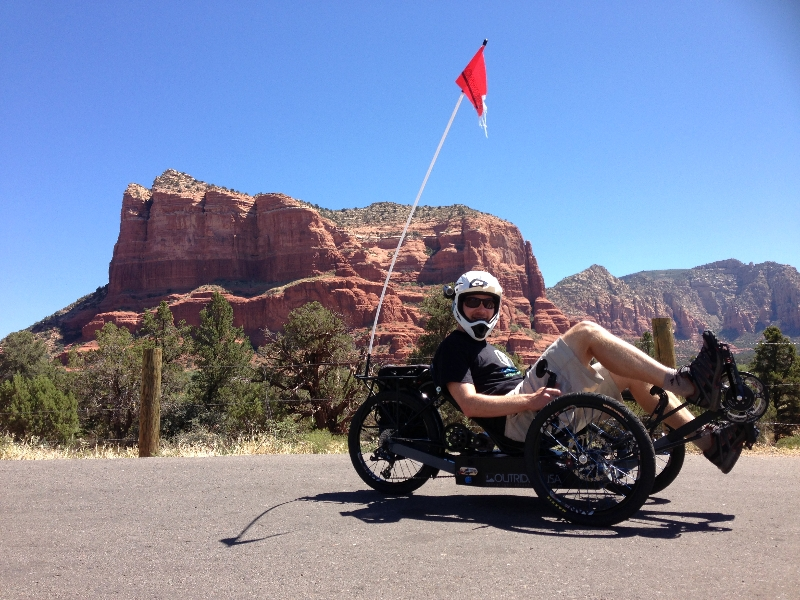 Me On The Outrider Electric Trike 422