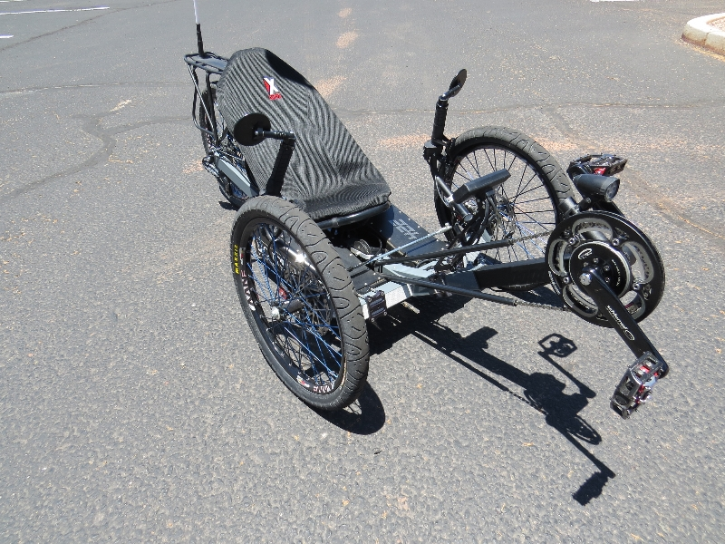 Outrider Electric Trike 422 Front Side