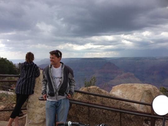 Ben Rich enjoying some time at the Canyon