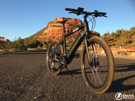 stromer-st1-platinum-side-view-sunset
