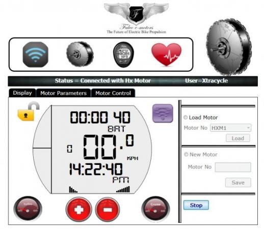 Falco interface display