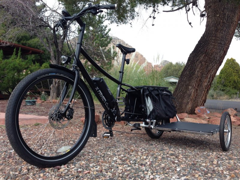 Xtracycle EdgeRunner Cargo Bike with Falco eMotors ...