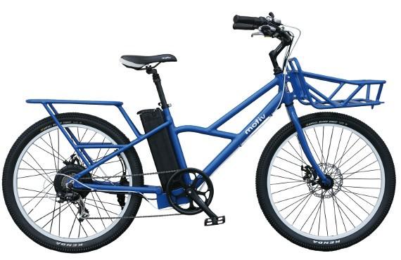 motiv sherpa electric cargo bike