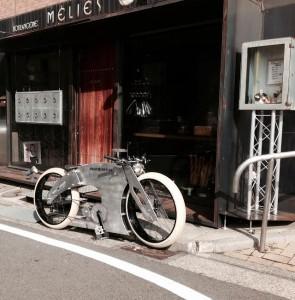 The Swiss Cruiser Happy Maker electric bike.