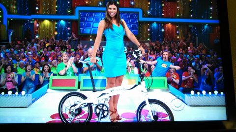 An Easy Motion Neo Volt on The Price is Right!
