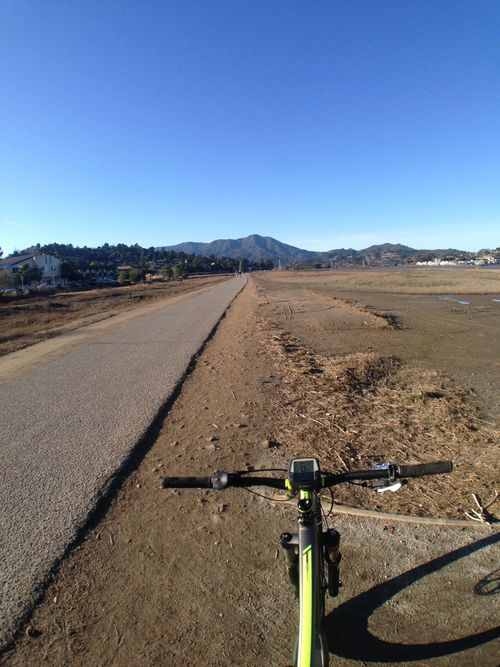 Heading out to tackle Marin's legendary Mount Tamalpais