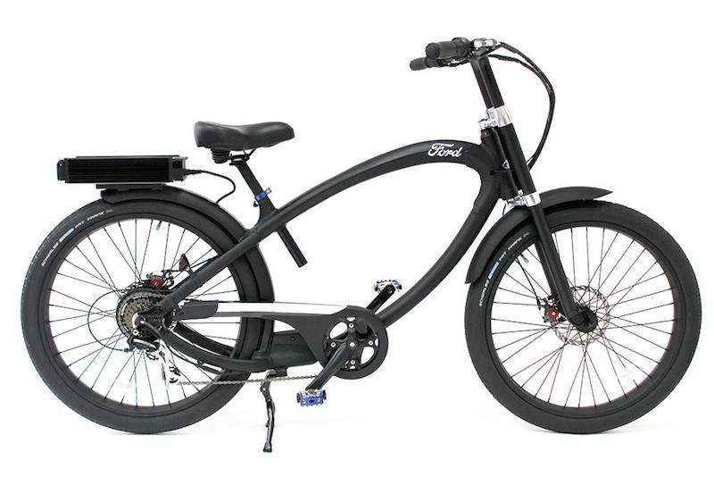 The Ford Super Cruiser electric bike by Pedego.