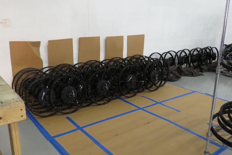 So many wheels!