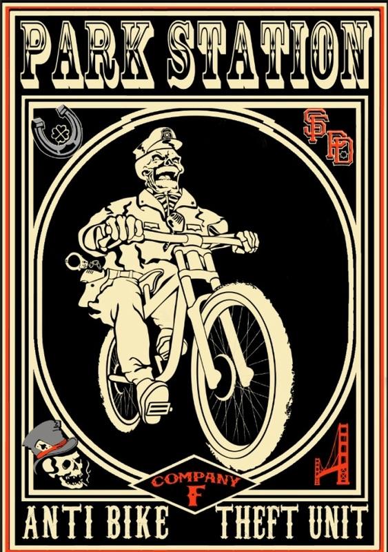San Francisco police department anti bike theft unit