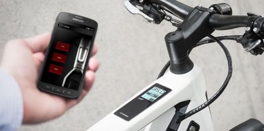 Electric bike smartphone applications