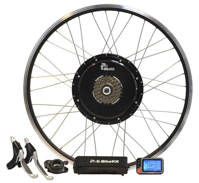 E-BikeKit electric bike conversion kit.