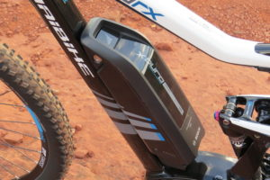 Haibike FS RX battery 3
