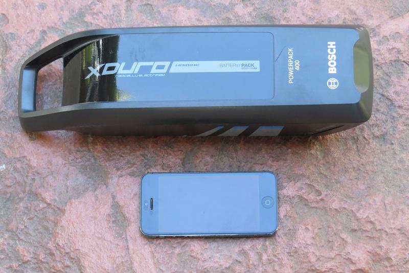 Haibike FS RX battery iphone