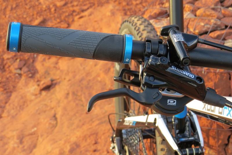 Haibike FS RX brake lever