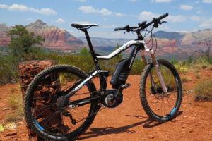 Haibike FS RX electric mountain bike 1