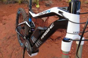 Haibike FS RX frame