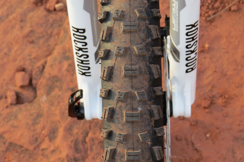 Haibike FS RX front tire