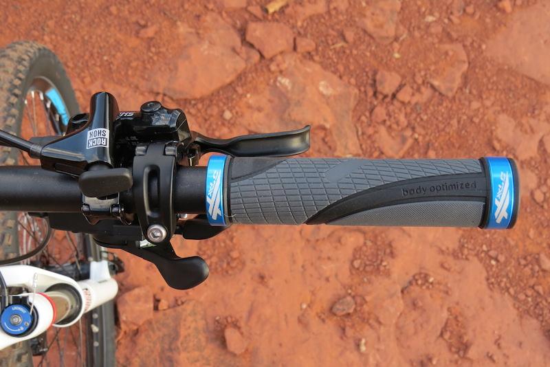 Haibike FS RX right grip