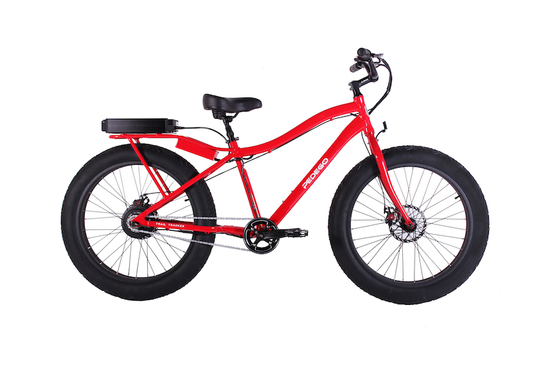 Pedego Trailer Tracker fat electric bike.