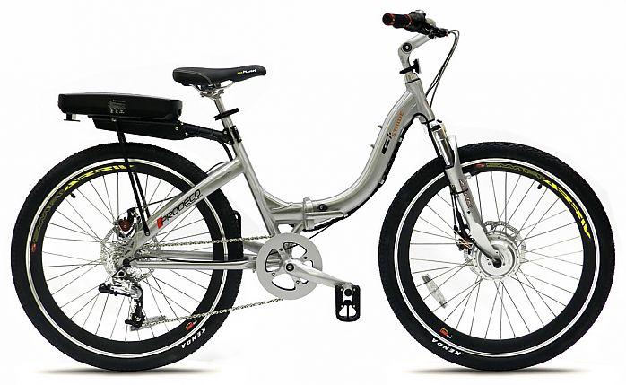 ProdecoTech Stride folding electric bike.