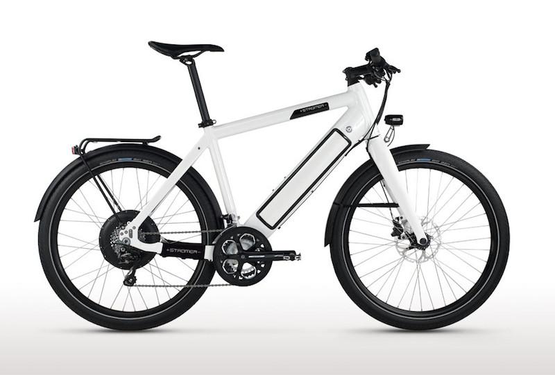 Speed Pedelec: Stromer ST1 Platinum electric bike.