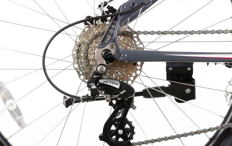 Optibike Pioneer Allroad electric bike derailleur