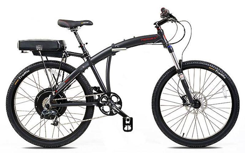prodecotech phantom x2 folding electric bike