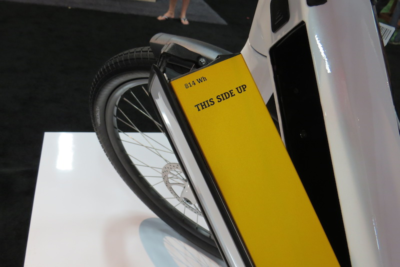 Stromer ST2 electric bike battery