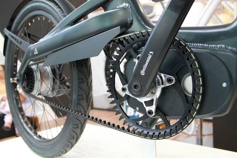 continental mid drive belt a2b electric bike