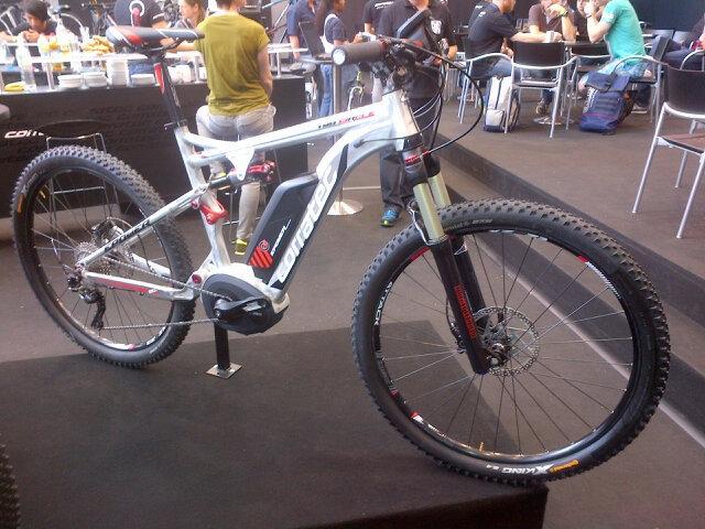 corratec electric mountain bike eurobike