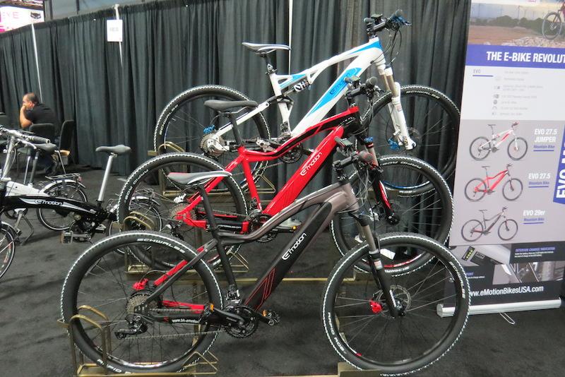 easy motion electric  mountain bikes